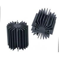 Wholesale Sunflower Heat Sink /  Aluminum Heatsink Extrusion Profiles For Led Light , Black Anodized from china suppliers