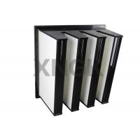 Wholesale Polyester V Bank Filter 4V Design F8 for Pharmaceutical Clean Room air filter from china suppliers