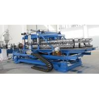 Quality DWC 50-200mm HDPE/PP Double Wall Corrugated Pipe Extrusion Line for sale