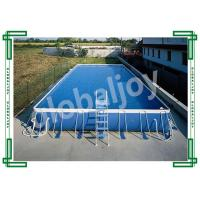 Wholesale Metal Frame Inflatable Water Pool , Large Inflatable Rectangular Pool from china suppliers