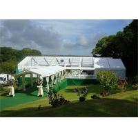 Wholesale Marquee Aluminum Wedding Tents Cover Double PVC Waterproof Flame Redartant UV - Resistant from china suppliers