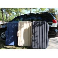 Wholesale PVC Travel Inflatable Car Air Bed , Car Air Mattress Easy Airbed from china suppliers