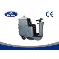 Quality Custom Hard Floor Scrubber Machine Ground Cleaning Battery Powered 24V Voltage for sale
