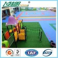 Wholesale ISO Playground Rubber Mats PP Interlocking Suspension Floor High UV Resistant Anti Aging from china suppliers