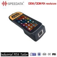 Wholesale Fingerprint Scanner Industrial PDA Android OS Wifi Bluetooth Touch Capacitive Screen from china suppliers