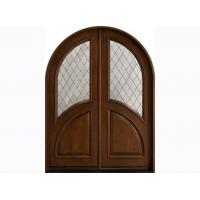 Wholesale Fully Finished Exterior Timber Doors , Fir Wood / Solid Wood from china suppliers