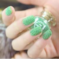 Wholesale Salon Green Caviar Nail Art Beautiful 3D Nail Charms For Adult Finger from china suppliers