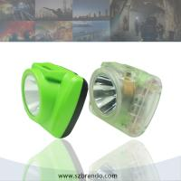 Buy cheap 6.8Ah Li-ion Rechargeable Miners Safety Lamp with OLED screen, rechargeable emergency lamp from wholesalers