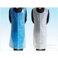 Wholesale PE apron,plastic kitchen disposable apron,Disposable PE Apron from china suppliers