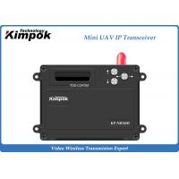 Wholesale 2.4Ghz Mini UAV TDD Transceiver Video + Data IP Transmitter and Receiver 1 Watt from china suppliers