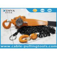 Wholesale 0.75 - 6 Ton Chain Lever Hoist Chain Pulley Block For Lifting and Hoisting from china suppliers