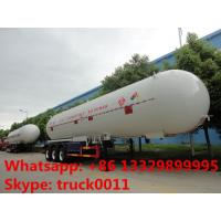 Wholesale factory price CLW brand 54,000L bulk lpg gas semitrailer for sale,  best price ASME 54m3 road transported propane tank from china suppliers