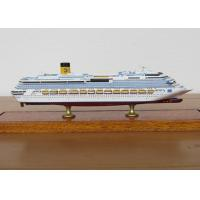 Wholesale Scale 1:900 Outdoor Decoration Costa Concordia Model , Cruise Ship Business Model from china suppliers