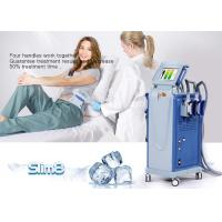 Wholesale Cellulite Reduction Cryolipolysis Machine 4 Handpiece Fat Freezing Machine from china suppliers
