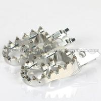 Wholesale Aluminum Alloy 57mm Dirt Bike Foot Pegs , Supermoto Light Weight Oversized MX Foot Pegs from china suppliers