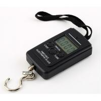 Quality 40kg/10g Portable Hanging Electronic Weighting Scale Black for sale