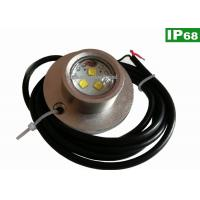 Wholesale Shockproof IP68 Boat Underwater LED Fishing Lights 10 - 30V DC 3PCS 5W from china suppliers