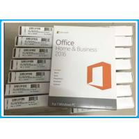 Wholesale Microsoft Office Home and Business 2016 English For Windows PC , 32/64 BIT from china suppliers