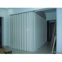 Wholesale Washable PVC Folding Door Interior , Foldable Toilet Door Moisture Protection from china suppliers