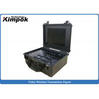 Wholesale Suitcase Portable Ground Station 17'' LCD Screen Wireless COFDM Video Receiver from china suppliers
