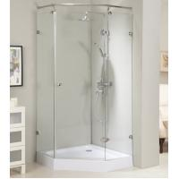 Buy cheap Frameless NEO shower room shower enclosure with stainless steel #304 fixed bar accessories from wholesalers