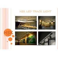 Quality 3 Phase 4 Wires 45w Cob Led Track Light For Exhibition Hall Shope , Black And White Color for sale
