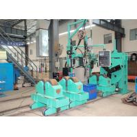 Wholesale Boiler Header Manufacturing Equipment , Header Butt TIG Welding Station from china suppliers