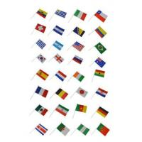 Wholesale custom printed plastic pole hand shaking flag from china suppliers