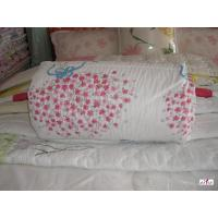 Quality Microfiber Filling Pink Printed 100 % Cotton Outer Fabric Customized Bed Quilt for sale