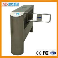 Wholesale 304 Stainless steel secure electronic counter swing barrier gate turnstile from china suppliers