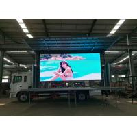 Wholesale 3D Custom Advertising Truck Mounted LED Screen Full Color For Roadside from china suppliers