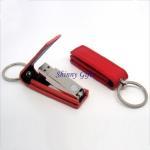 leather swivel usb flash drive