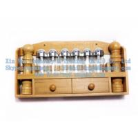 Wholesale Bamboo Spice Rack, kitchen seasoning bottle rack, wooden pepper shakers from china suppliers