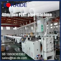 Wholesale China Weifang KAIDE High Speed 35m/min PE-RT pipe production line/extrusion line manufacturer supplier from china suppliers