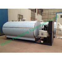 Wholesale Double Layer Horizontal Milk Storage Tank with Copeland Compressor from china suppliers