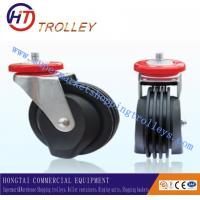 Wholesale Universal Elevator 5 Inch TPR Castors Shopping Trolley Spare Parts Four Sides from china suppliers