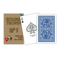 Wholesale Plastic Modiano Golden Trophy Gambling Props Casino Grade Playing Cards from china suppliers