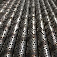 Wholesale Industrial Structure Perforated Metal Tube Mill , High Frequency Welding from china suppliers