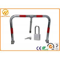 Wholesale Car Safety Manual Parking Space Lock with IP68 Spraying Plastic Coating 600 * 500 * 360 mm from china suppliers