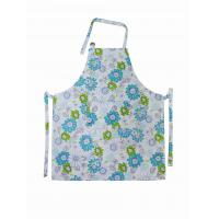 Quality Cotton Bib Spring Floral Printed Old Fashioned Vintage Aprons Ladies Apron for sale