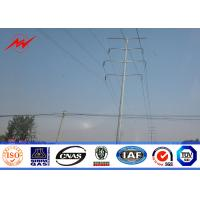 Wholesale 33 Kv High Tension Line Steel Tubular Pole Bitumen Protection from china suppliers