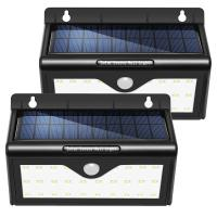 Wholesale Wall Mounted Waterproof Motion Sensor Solar LED Garden Lights / Solar Wall Light from china suppliers