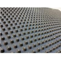 Wholesale High Density Dimpled Drainage Board Membrane For Basement Walls 0.8mm - 2mm Thickness from china suppliers