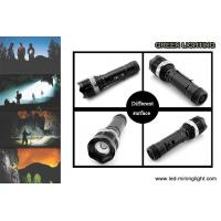 Wholesale 10W High Power LED Flashlight Torch Rechargeable 2200mAh Li - Ion Battery from china suppliers