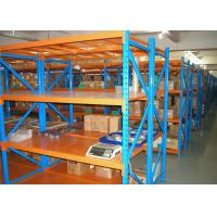 Wholesale Industrial Long Span Racking For Bulky Items , Heavy Duty Metal Shelving from china suppliers
