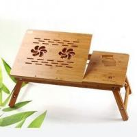 Wholesale Bamboo wood laptop table,bamboo computer desk, eco-friendly from china suppliers