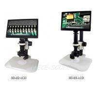 Wholesale High Resolution LCD Screen Microscope With Digital Camera 3D - 02 - LCD Series from china suppliers