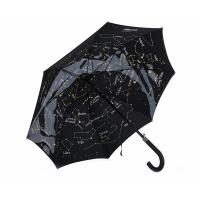 Quality 23 Inch 8 Ribs Unique Starry Design Inside Full Printed Straight Umbrella for sale