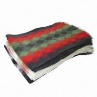 Wholesale Fashionable Acrylic Knitted Scarf, Warm and Comfortable, Suitable for Winter from china suppliers