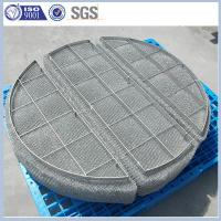 Wholesale SS304 SS316 mist demister for Column Internals from china suppliers